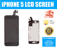 iPhone 5 5G BLACK Screen Touch Assembled Genuine OEM LCD Digitizer Replacement