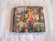 "Riot ""The Privilege of Power"" 1990 cd Sony Music Rec. Printed in USA  New Sealed"
