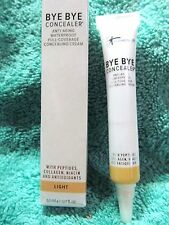 it Cosmetics BYE BYE Concealer LIGHT 0.17 fl.oz. Waterproof Full Coverage SEALED