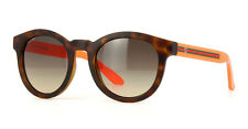 Gucci Sunglasses 3653/S Havana Orange Fluorescent 18O/ED Designer Shades GG3653S