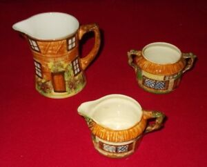 COTTAGE WARE ITEMS BESWICK AND PRICE KENSINGTON - SELECT INDIVIDUAL ITEM