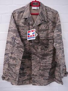 Mens PROPPER Utility US Air Force Military Camouflage Jacket Size 42 L XL