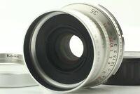 [EXC+5] Voigtlander Color Skopar 35mm F2.5 MC Lens w/ M Mount Adapter from Japan