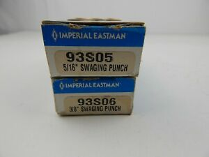 """Imperial Eastman Swaging Tools 5/16""""  93S05 and  3/8"""" 93S06"""