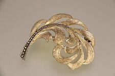 Original Theodor Fahrner Brosche Art Deco Silber 925 Markasiten Besatz