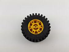 Lego® Technic Rad Reifen mit gelber Felge 24x43 aus 8862