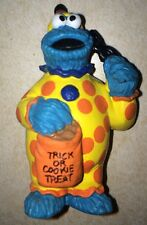 "Cookie Monster PVC 3.5"" Figure Cake Topper Halloween Clown Applause Rare"
