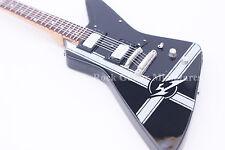 RGM668 James Hetfield METALLICA Black Explorer Miniature Guitar