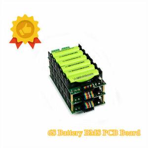 24V Power Wall 6S Battery BMS PCB Board 18650 Battery Holder Box Module 40A DIY
