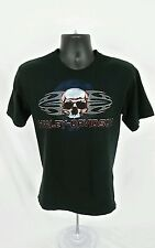 Mens Harley Davidson T Shirt Small EUC chrome Black Dubois PA Pre Shrunk USA