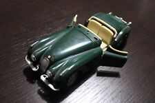 modellino auto jaguar xk 120 1948 verde scala 1/24 burago made in italy macchina