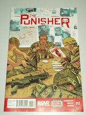 PUNISHER #13 MARVEL COMICS FEBRUARY 2015 VF (8.0)