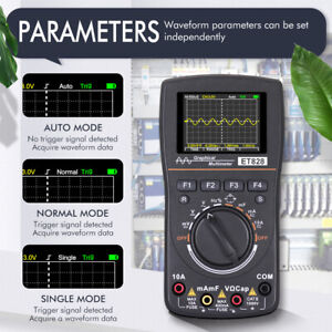 Digitales 2in1 Oszilloskop Multimeter Handheld  DC/AC 1MHz 2.5Msps Messgerät DE