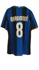 MAGLIA SHIRT F.C. INTER 2008 - 09 HOME N 8 IBRAHIMOVIC  AUTOGRAFATA  TG. XL