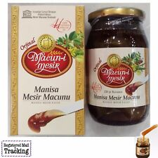 Manisa Mesir Paste Natural Ottoman Aphrodisiac Herbal Remedy 220gr/7,76oz Maccun