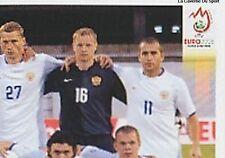 N°438 VIGNETTE PANINI EQUIPE 2/4 RUSSIA EURO 2008 STICKER