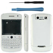 Blackberry 8900 Curve Housing Fascia Battery Cover Keypad Bezel White + Tools UK
