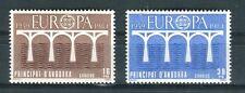 Andorra Spagnola 1984 serie Europa 25 anniversario Cept MNH