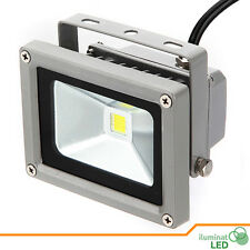 Led FloodLight Warm White 10W IP65 Outdoor DC 12V Waterproof - Grey Case