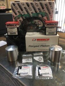97'-01' Ski-Doo 500 Rotary Valve Engine, Wiseco Rebuild Kit, Pistons, Gaskets