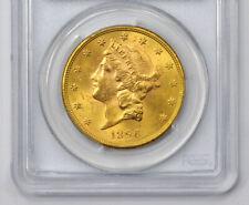 20 Dollars GOLD USA 1896-S Liberty Head PCGS MS62 selten
