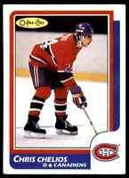 1986-87 O-Pee-Chee Chris Chelios . #171