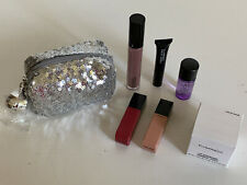 NEW! MAC COSMETICS 7-PCS BAG OF FAB FAVORITES AND SEQUIN POUCH SET