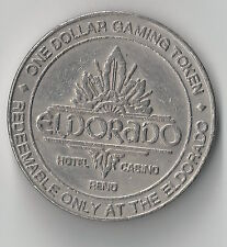 $1 RENO ELDORADO CASINO CHIP TOKEN NEVADA HOTEL POKER CRAPS