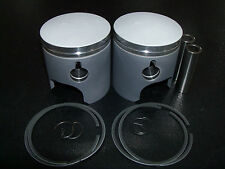 Suzuki T500 Piston Kit .5mm OS Two Pistons with rings 1968 - 1977 GT500