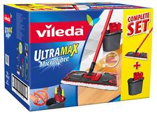 VILEDA Ultramax Piatto Scopa e Secchio Set