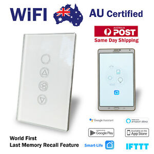 Smart WIFI Wall Switch Touch Home Automation 6 Speed Fan Controller Google Alexa