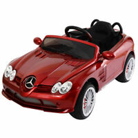 Mercedes Benz R199 Licensed 12V Electric Kids Ride On Car MP3 RC Remote Control