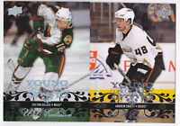 08-09 Upper Deck Colton Gillies /100 UD Exclusives Young Guns Rookie 2008