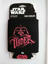 Can Cooler-Darth Vader-Urban Style   Black With Red -New