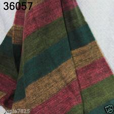 New Winter Women's Man's Checks Long Cashmere Wool Soft Warm Wrap Shawl Scarf