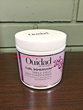 OUIDAD Curl Immersion Triple Treat Deep Conditioner 12oz / 354mL - NEW & FRESH!