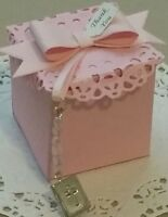 Baby shower, christening favor boxes with bible locket-pk- 20,50,100