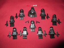 LEGO Star Wars minifigure LOT Darth Vader, V-Wing Tie Bombers & Pilots Shadow