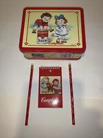 Vintage Collectible 1998 Campbells Soup Kids Metal Lunch Box