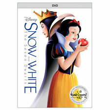 Snow White and the Seven Dwarfs (DVD, 2017) Disney New with Slipcover Free ship