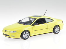 Peugeot 406 Coupe yellow diecast modelcar 940112621 Maxichamps 1:43