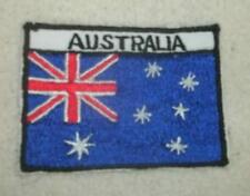 Embroidered Patch Australia Flag 3.5 x 2.5 NEW