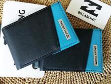 Billabong Faux Leather Bifold Wallets for Men