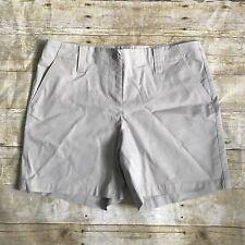 Talbots Petites Beige Stretch Khaki Shorts Size 10P