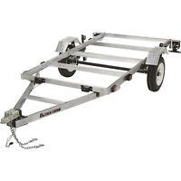 Ultra-Tow 4ft. x 8ft. Folding Aluminum Utility Trailer Kit-1170Lb. Load Capacity