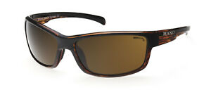 Mako SHADOW - Poly PC Brown Sunglasses Fishing Polarised 9585 M12 P1S