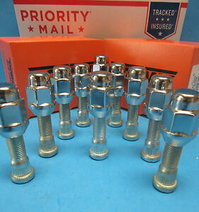 10 Rear Wheel Lug Studs & 10 Nuts Replaces OEM # 610312 Made in USA