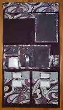 Thirty One 31 Hang Up Hanging Home Wall Organizer PURPLE PASSION