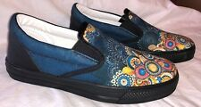 Yes We Vibe Slip on Tennis Shoes Colorful Mandala Size 8 1/2        KZ0497