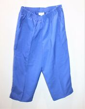 Millers Brand Blue Pull-On Crop Pants Size 12 BNWT #SN17